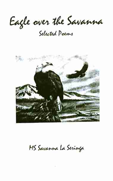 Eagle Over The Savanna
